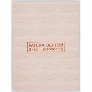 Dilman Fatura/İrsaliye 2/50 2 Nüsha