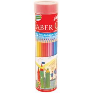 Faber-Castell Kuru boya 24'lu Tüp